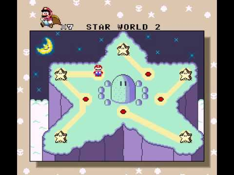 Super Mario All-Stars  Super Mario World - Super Mario All-Stars  Super Mario World Star Road (SNES) - User video