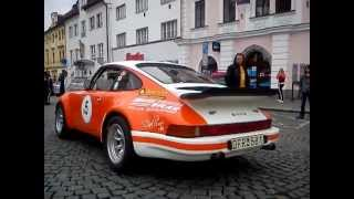 Porsche 911 Engine Sound - Historic Vltava Rallye 2013