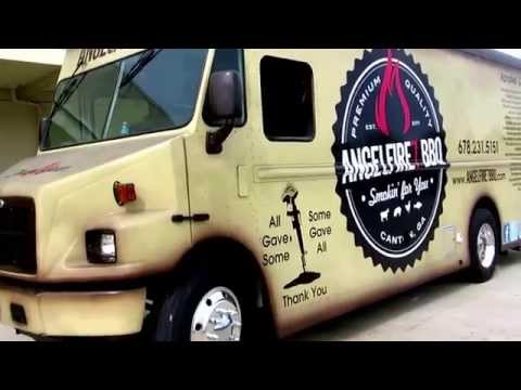 Angel Fire 7 BBQ Food & Catering Truck