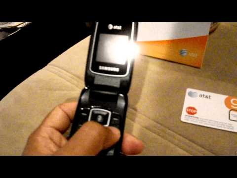 How to Unlock AT&T SAMSUNG SGH-A107 cellphone