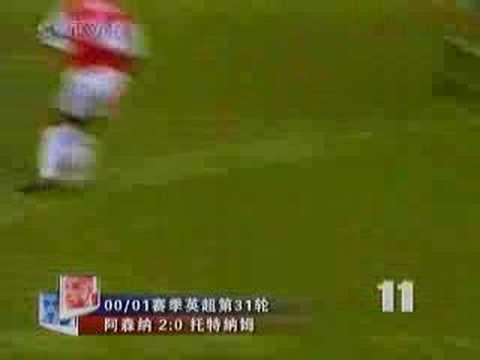 Henry top 20 goals