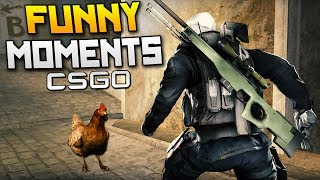 Playing Against POST MALONE! - CSGO Funny Moments