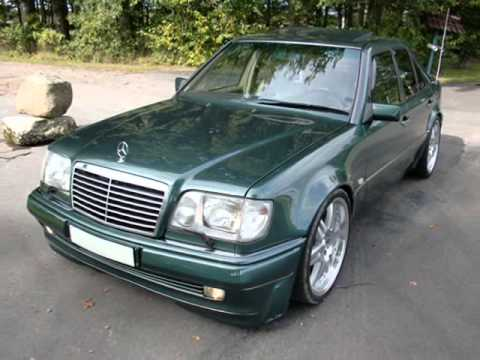 Mercedes 500e w124 amg - YouTube