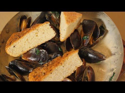 Черноморские мидии. Рецепт от шеф-повара.