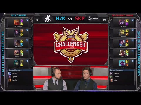 H2k Gaming Vs Sk Gaming Prime | Game 3 Semi Finals S4 Eu Cs #2 Summer 2014 | H2k Vs Skp G3 video