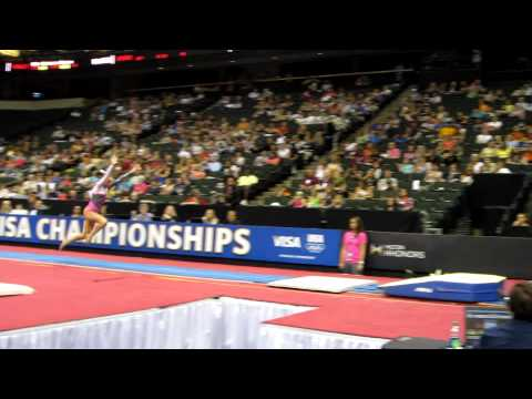 Lexie Priessman - 2011 Visa Championships - Vault