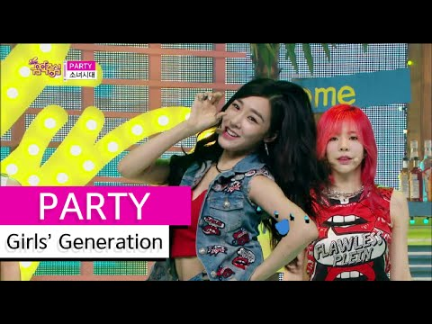 [Comeback Stage] Girls' Generation - PARTY, 소녀시대 - 파티, Show Music Core 20150711