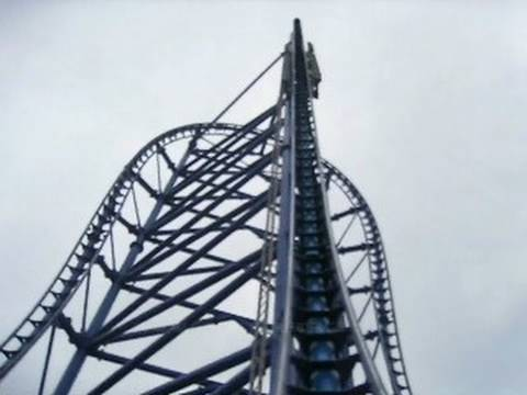 Video - Mr. Freeze Front Seat on ride POV Six Flags St. Louis