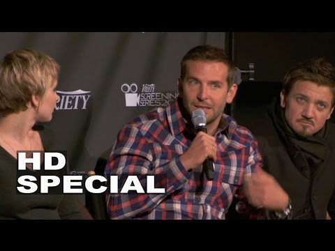 American Hustle: Cast Chat - Jennifer Lawrence, Christian Bale, Bradley Cooper, Amy Adams