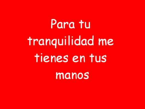 Yo Te Amo Lyrics