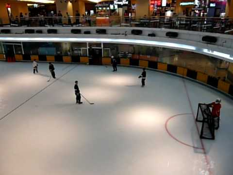 Can You Imagine playing Ice Hockey In a Hot City like Jakarta (Indonesia)?