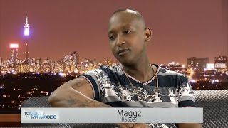 Tonight with Tim Modise | Rapper, Maggz on getting arrested, new music & working on an album
