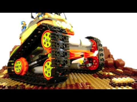 The Ultimate LEGO Power Miners Vehicle