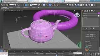 Thực hành 3ds Max - Bài 4 : Thao tác các khối cơ bản trong 3Dsmax