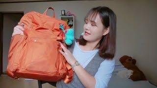 [ Du Học Sinh Hàn Quốc] What's in my backpack? Trong balo đi học của Ánh có gì?|Sunny's Colour