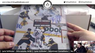 1/23/19 - 2018/19 Hit Parade Auto HAT TRICK Hockey - Series 4 - 1-Box Break - 2 Random Teams #11