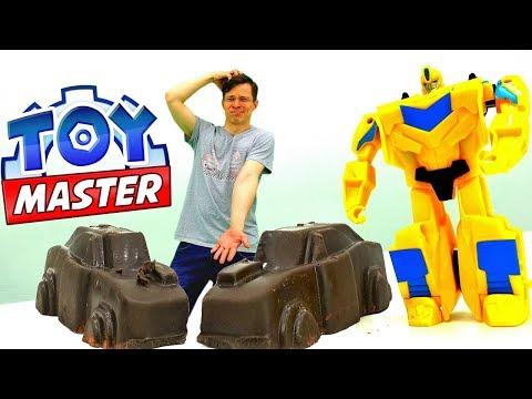 Федор Toy Master и Бамблби на базе Десептиконов.