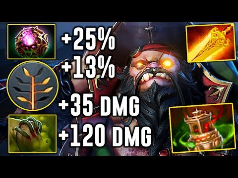 SingSing Pudge New Talents Tree Build IMBA Butcher 7.07 Dota 2