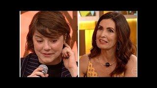 Alice Wegmann desabafa sobre transtorno no Encontro com Fátima Bernardes | Pop! Pop! Pop!