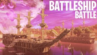 BATTLESHIP BATTLE MINI-GAME!  - Fortnite: Battle Royale Playground (Nederlands)