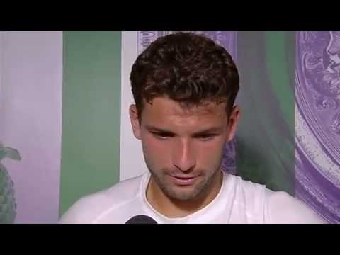 Grigor Dimitrov post-match interview - Wimbledon 2014