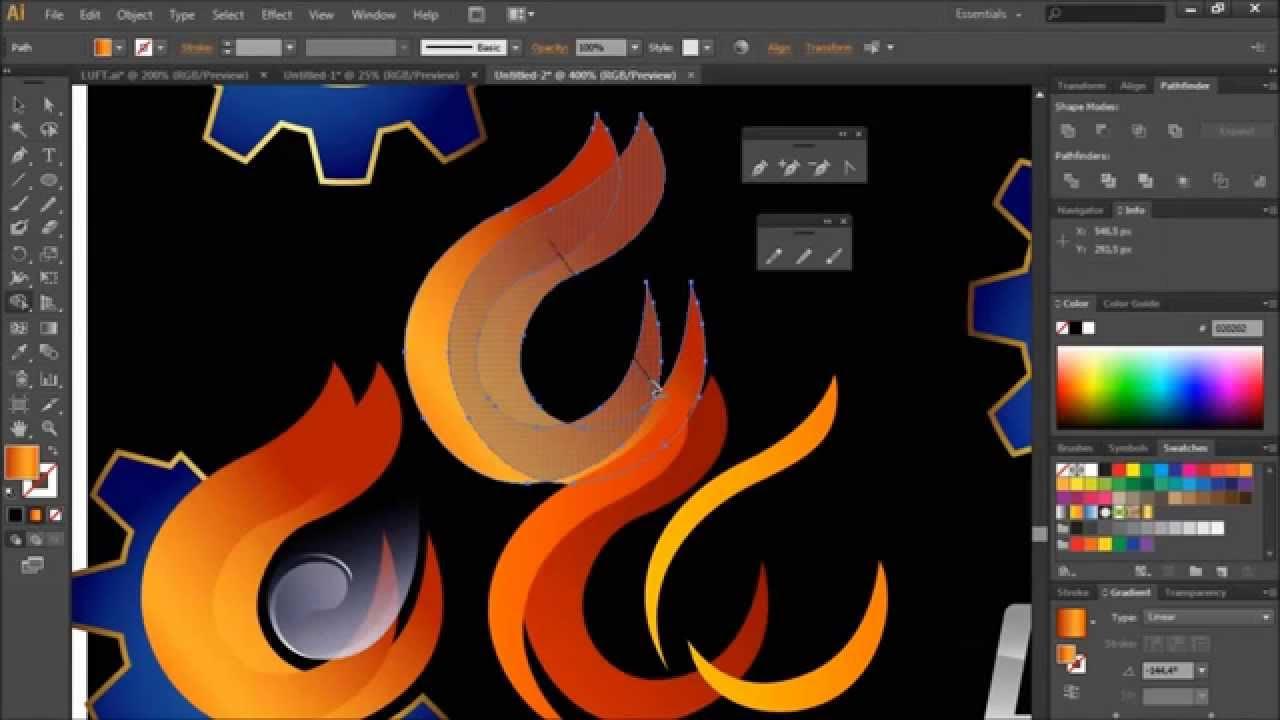Как сделать логотип иллюстратор 760