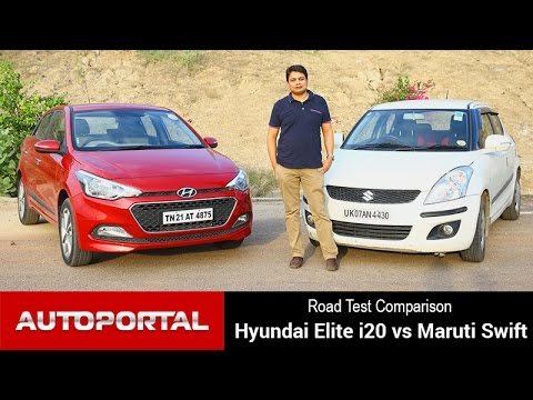Comparison - Hyundai Elite i20 Vs Maruti Swift - Autoportal