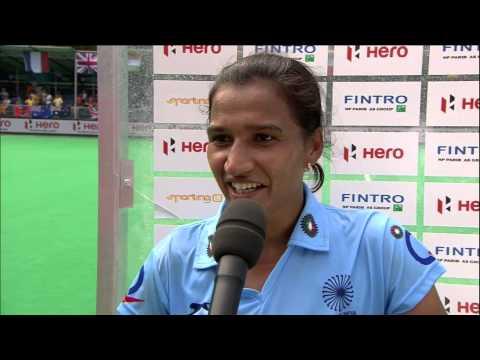 Post Match Interview Ritu Rani