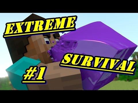 Minecraft PE - EXTREME SURVIVAL - EP. 1 [ Прокълнатите айтеми ]