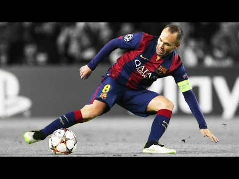 Andrés Iniesta ● Goals, Skills, Assists, Tackles - Barcelona 2014/2015