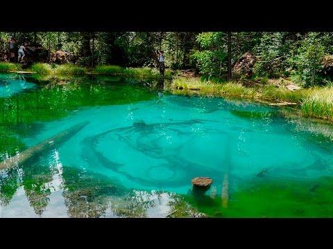 Гейзеровое озеро летом на Алтае - 2016
