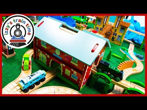 BIGJIGS RAILWAY STATION! Thomas and Friends Fun Toy Trains for Kids!
