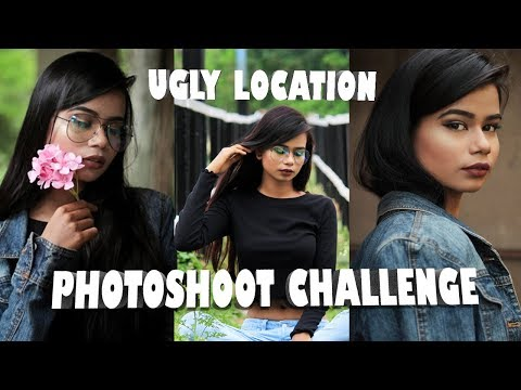 UGLY LOCATION PHOTOSHOOT CHALLENGE | INDIA