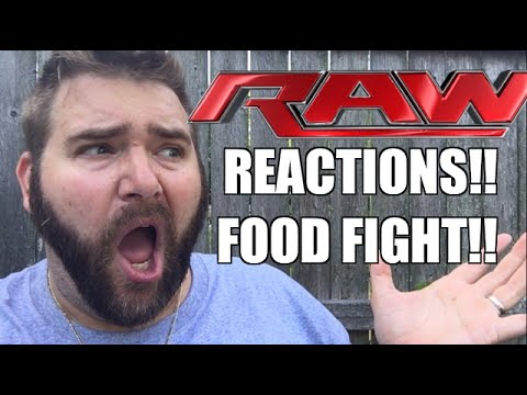 WWE RAW REACTIONS: FOOD FIGHT FAIL! Full Show Results and Review 7/4/16