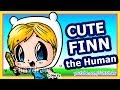 Adventure Time Finn - How to Draw Cartoon Chibi Characters Easy - Fun2draw People