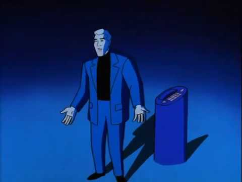 Batman Beyond Vance's Supercomputer