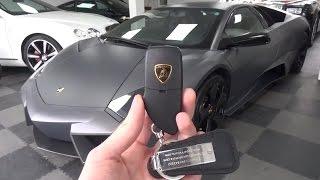 Lamborghini Reventón Coupe: In-depth Exterior and Interior Tour.