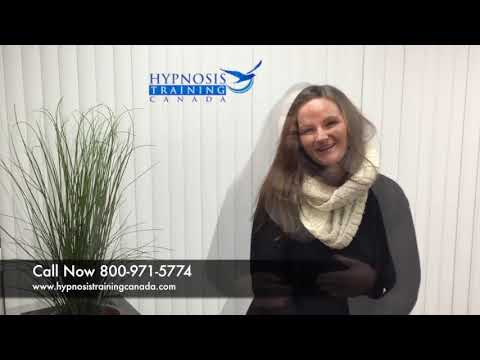 More confidence & excited to open her hypnosis clinic - hypnosistrainingcanada.com
