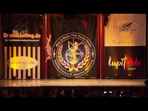 Miss & Mister Pole Dance Globe 2015 - Emma Aspenberg - Finalist - Professional Women