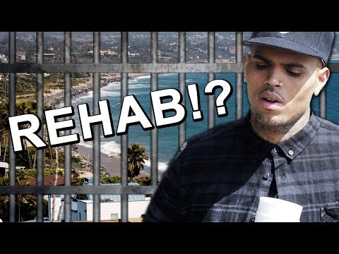 Chris Brown Checks into Rehab