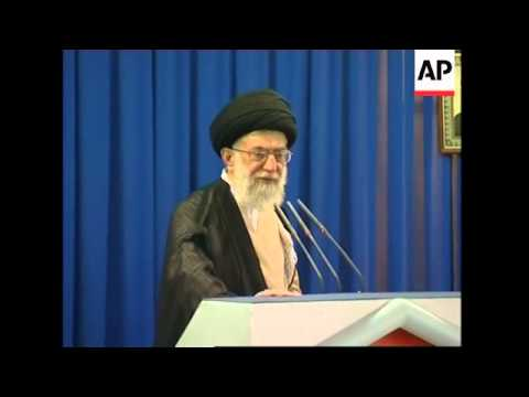 Khamenei says Bush will one day to be tried like Saddam for Iraq disaster