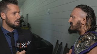 Neville learns his match against Austin Aries at Extreme Rules will be a Submission Match