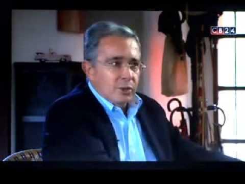 Senador Álvaro Uribe Vélez en el programa Habla con Alberto Padilla de CB24 Noticias
