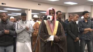 الشيخ علي جابر  Amazing Imitation of Shiekh Ali Jaber Salah Taraweeh/ By Sheikh Jamac Hareed 2013