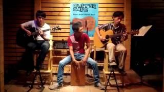 Biểu diễn ghita + trống cajon tại quán Guitar cafe 206A Phan Huy Ích, P.12, Gò vấp