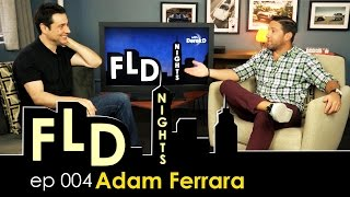 "FLD Nights - Adam Ferrara ""Top Gear Secrets, Comedy, and an Old School Mullet!"""