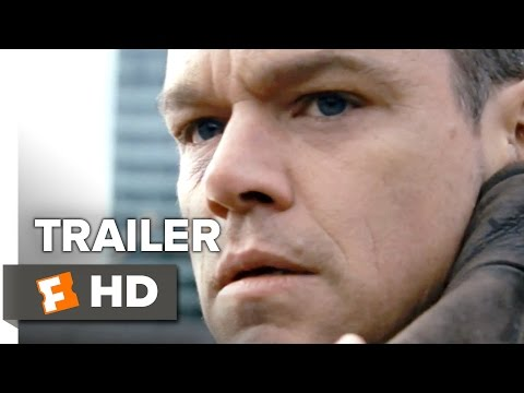 Jason Bourne Official Trailer #1 (2016) - Matt Damon, Alicia Vikander Movie HD streaming vf