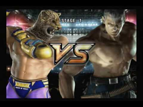 Tekken 5 - King video