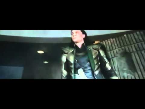The Avengers Hulk vs Loki funny scene