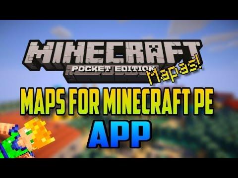 MAPS FOR MINECRAFT PE - APP PARA DESCARGAR MAPAS GRATIS!
